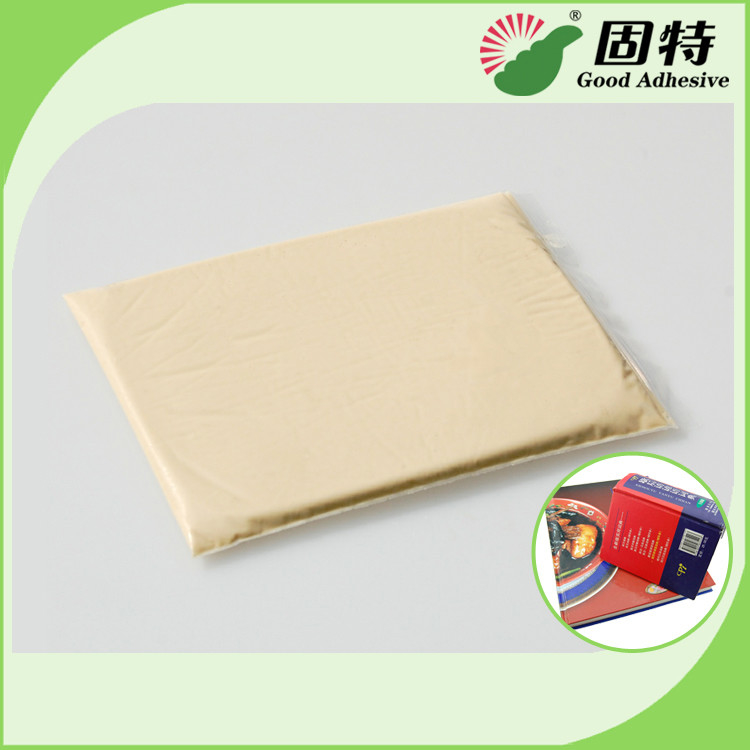 Yellow Solid 	Animal Jelly Glue For Notebook Hardcover Backlining Hot Melt Adhesive Glue